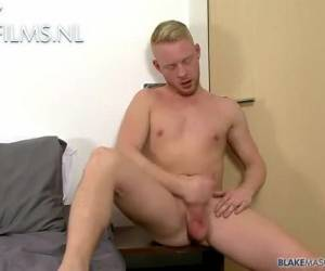 Schattige ginger gay doet sex auditie