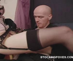 sex vrouwen in panty en lange laarzen