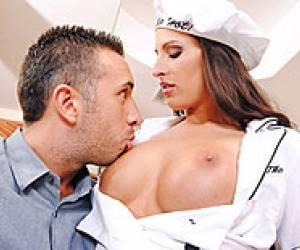 blonde nurse isabella clark gets entire cock up her ass