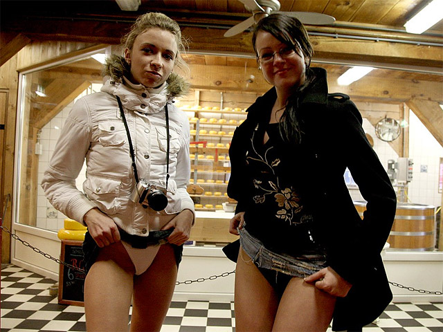 sokken Geile lesbiennes houden squirtfeestje